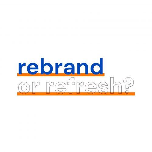 Rebrand or brand refresh? | The Design Attic